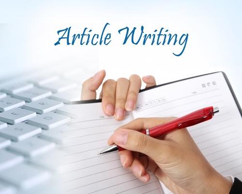 How to write an article ?